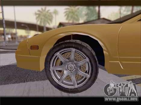 Acura NSX para el motor de GTA San Andreas
