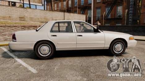 Ford Crown Victoria 1998 v1.1 para GTA 4 left