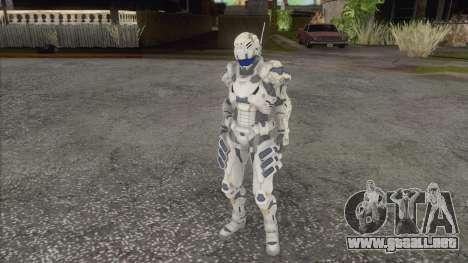 Vanquish para GTA San Andreas segunda pantalla