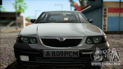 Mazda 626 para visión interna GTA San Andreas