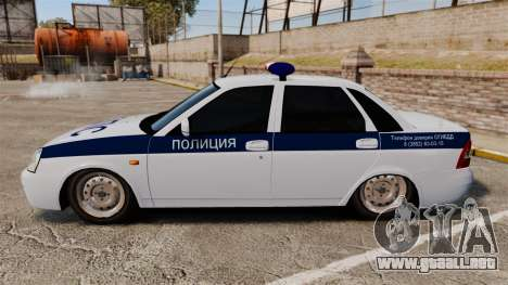 Vaz-2170 Lada Priora DPS para GTA 4 left
