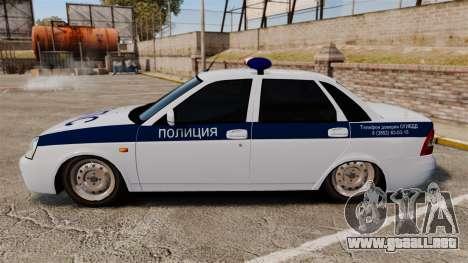 Vaz-2170 Lada Priora DPS para GTA 4 left