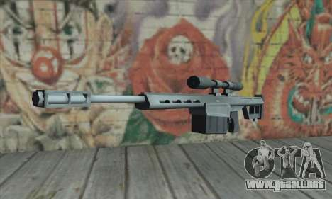 Rifle de francotirador de los Saints Row 2 para GTA San Andreas