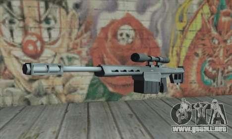 Rifle de francotirador de los Saints Row 2 para GTA San Andreas