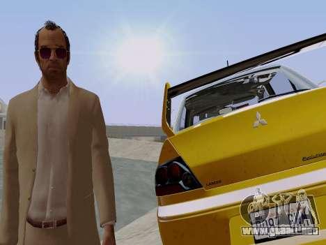 Trevor Phillips para GTA San Andreas sexta pantalla