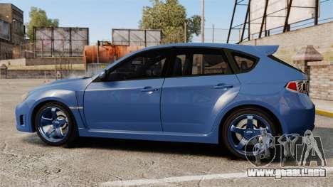 Subaru Impreza 2010 para GTA 4 left
