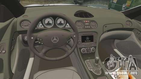 Mercedes-Benz SL65 AMG para GTA 4 vista interior