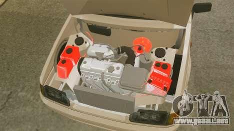 Vaz-2114 para GTA 4 vista superior