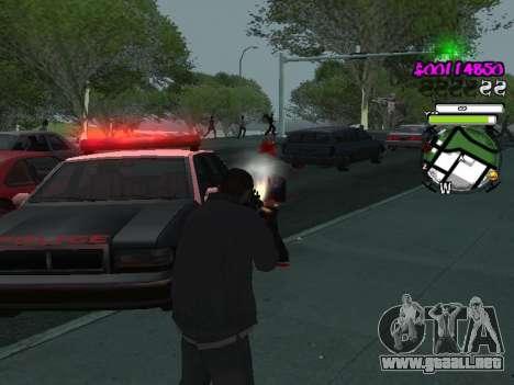 HUD para GTA San Andreas sexta pantalla