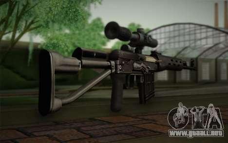 rifle de francotirador de 7.62 Dragunov SVD-s para GTA San Andreas segunda pantalla