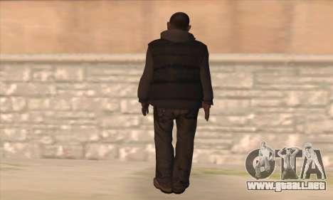 Clarence de GTA IV para GTA San Andreas segunda pantalla