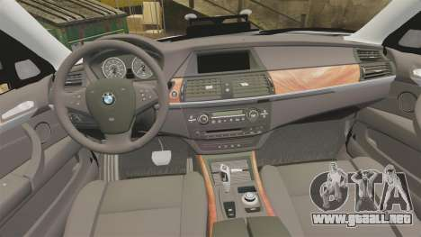 BMW X5 City Of London Police [ELS] para GTA 4 vista lateral