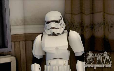 Stormtrooper de Star Wars para GTA San Andreas