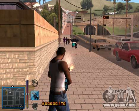 C-HUD by Mike Renaissance para GTA San Andreas