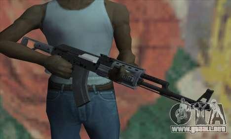El AK-47 de GTA V para GTA San Andreas tercera pantalla