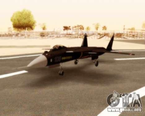 Su-47 Berkut v1.0 para GTA San Andreas left