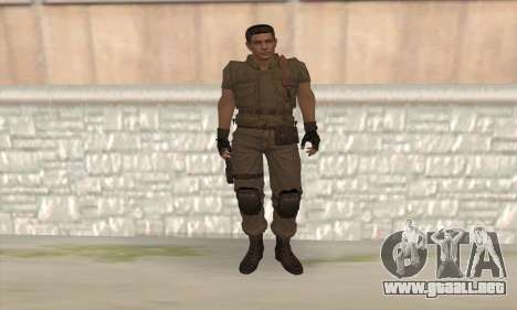 Chris Redfield v2 para GTA San Andreas