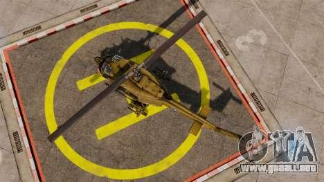 Bell UH-1 Iroquois v2.0 Gunship [EPM] para GTA 4 visión correcta