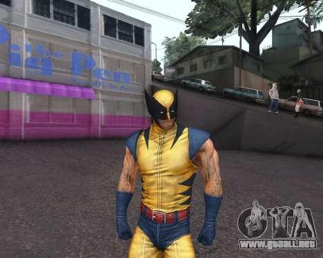 X-men Origins: Wolverine [Skins Pack] para GTA San Andreas séptima pantalla