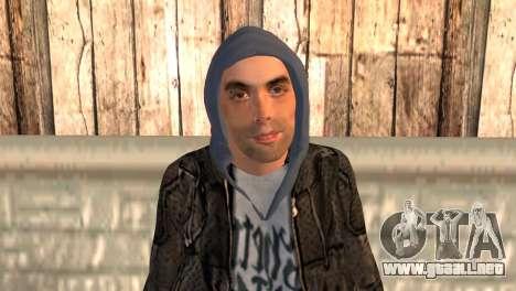 DUV para GTA San Andreas tercera pantalla