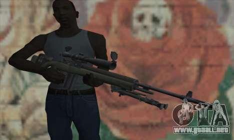 OSV para GTA San Andreas tercera pantalla