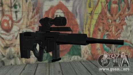 Rifle de francotirador de Resident Evil 4 para GTA San Andreas