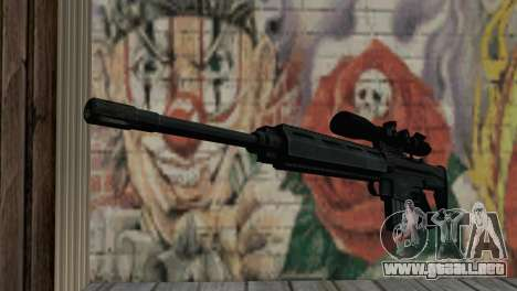 Snajperckaâ rifle negro para GTA San Andreas