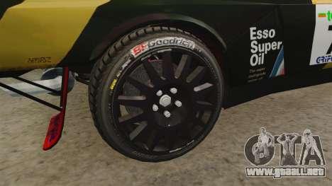 Lancia Delta S4 GroupB para GTA 4 vista hacia atrás