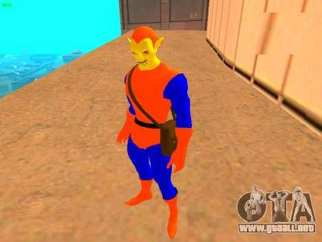 Duende de cómics para GTA San Andreas segunda pantalla