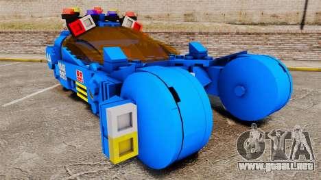 Lego Car Blade Runner Spinner [ELS] para GTA 4