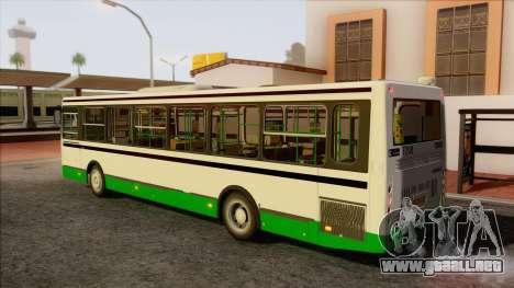 LIAZ 5256.57 para GTA San Andreas left