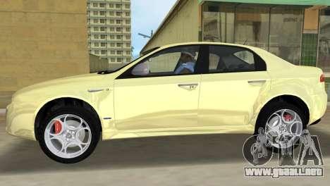 Alfa Romeo 159 ti para GTA Vice City left