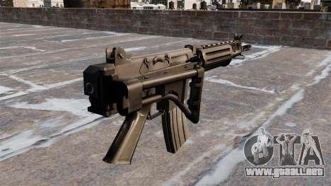 Rifle de asalto FN FNC para GTA 4 segundos de pantalla
