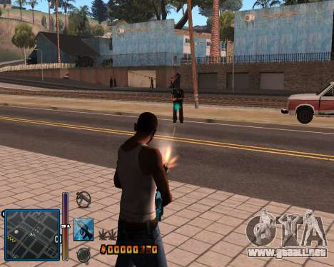 C-HUD by Mike Renaissance para GTA San Andreas segunda pantalla