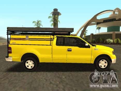 Ford F-150 para la visión correcta GTA San Andreas