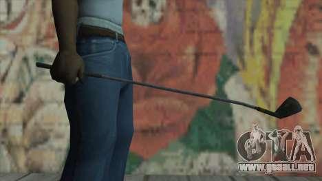 Putter de Fallout New Vegas para GTA San Andreas tercera pantalla