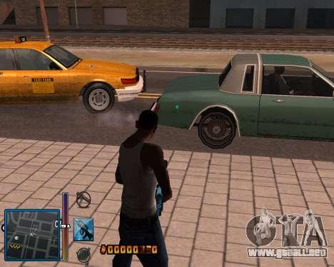 C-HUD by Mike Renaissance para GTA San Andreas quinta pantalla
