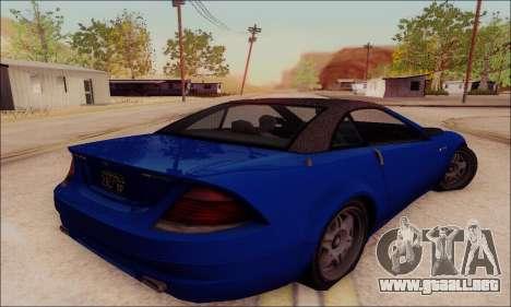 Feltzer de GTA IV para GTA San Andreas vista hacia atrás