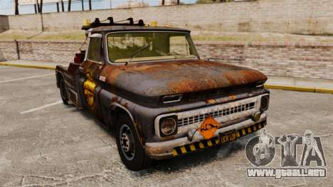 Chevrolet Tow truck rusty Stock para GTA 4
