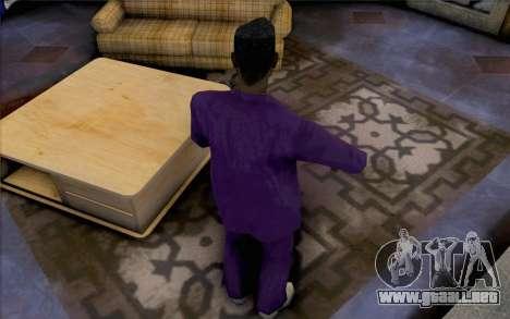 New Jizzy para GTA San Andreas segunda pantalla
