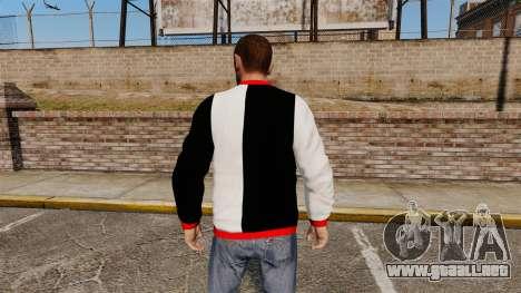 Suéter-Scarface - para GTA 4 segundos de pantalla