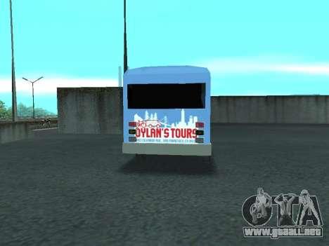 Ford Shuttle Bus para la visión correcta GTA San Andreas