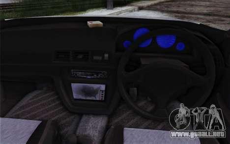 Honda Prelude 2.2 VTi DOHC VTEC 1996 para GTA San Andreas vista hacia atrás