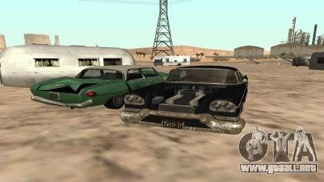 Tornado GTA 5 para GTA San Andreas vista posterior izquierda