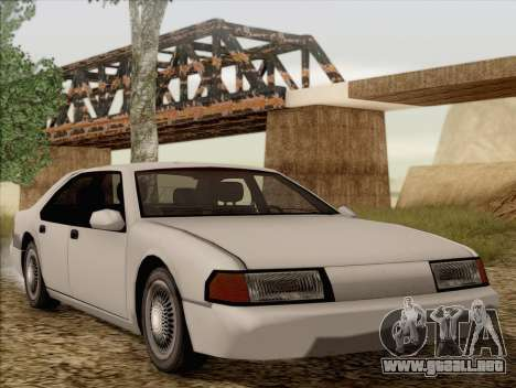 Fortune Sedan para GTA San Andreas
