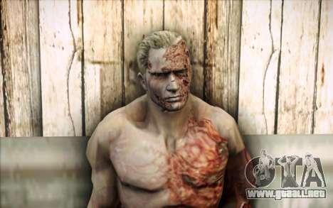 Un infectado Krauser para GTA San Andreas tercera pantalla