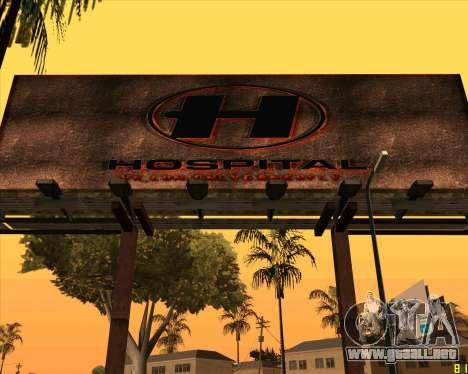 Nuevo Hospital HD para GTA San Andreas segunda pantalla