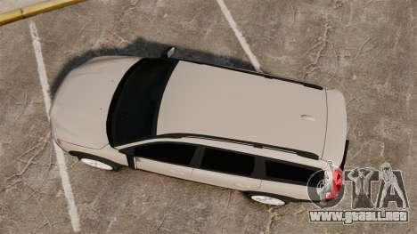 Volvo XC70 Stock para GTA 4 visión correcta