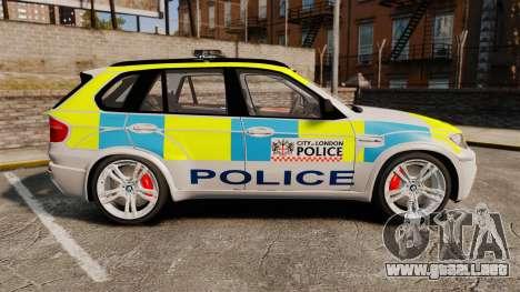 BMW X5 Police [ELS] para GTA 4 left
