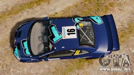 Peugeot 307 WRC para GTA 4 visión correcta